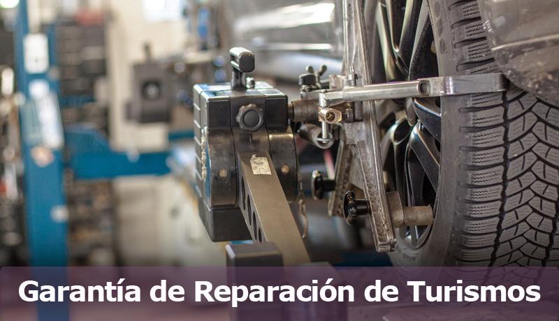 Garantía de Reparación de Turismos
